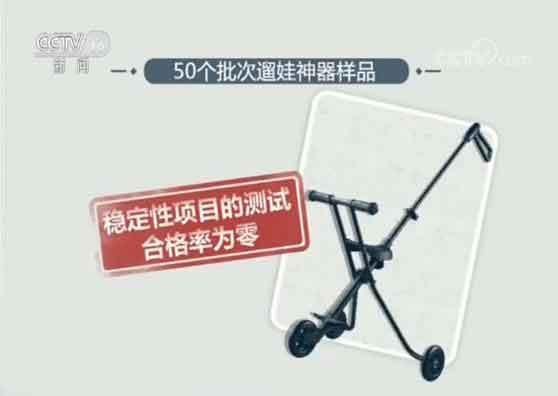 """央视曝网红""""遛娃神器""""成暴利产品 合格率为零!"""
