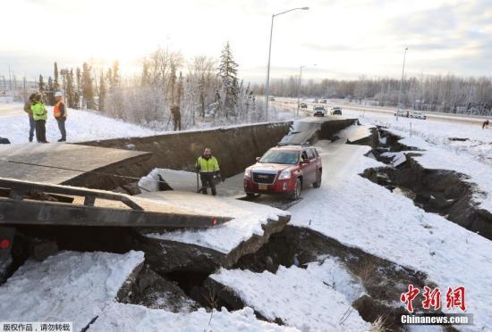 美阿拉斯加州发生5.4级地震 暂无人员伤亡及灾情报告