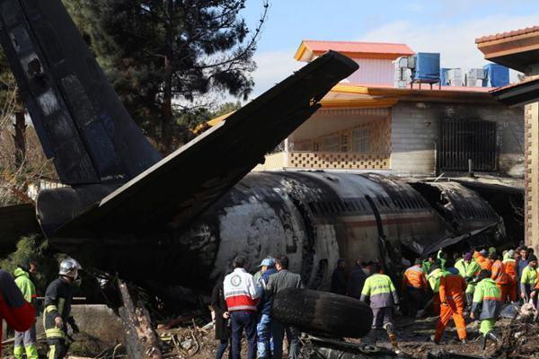 伊朗失事货机黑匣子及全部遇难者遗体被找到