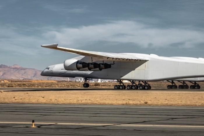 世界最大飞机达到起飞速度 或将迎来首飞