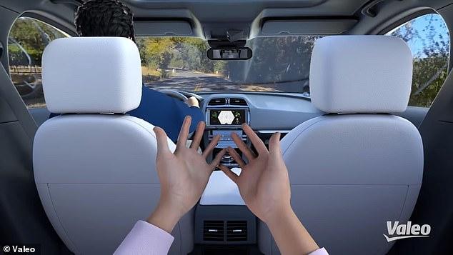 车内VR虚拟座椅来了 让你不出门也可以体验出行
