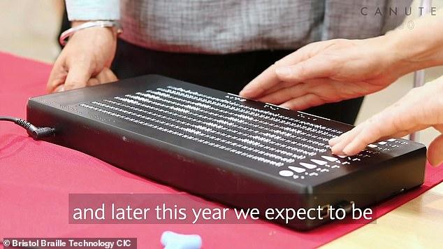 """英公司发布世界首款""""盲人Kindle""""  预计2019投产"""