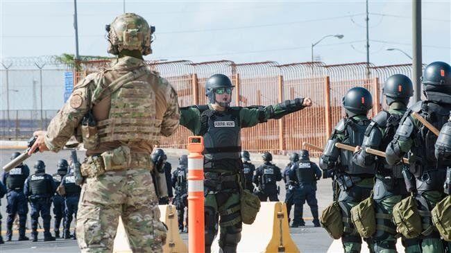 政府关门第25天 美军宣布美墨边境驻军延长8个月