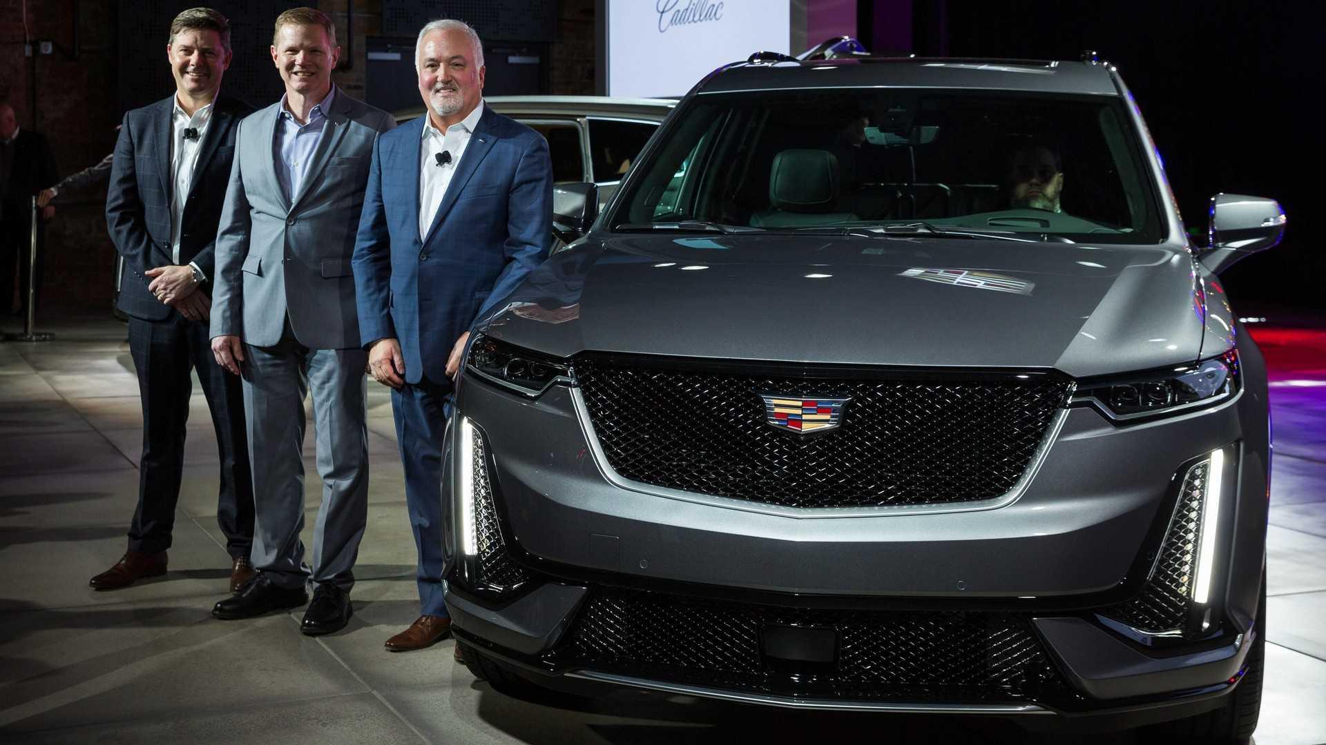 凯迪拉克XT6中大型SUV首发亮相北美车展