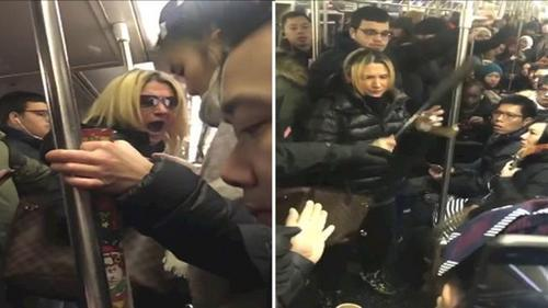 美媒:美国律师地铁辱骂攻击华裔 千人请愿撤销其律师资格