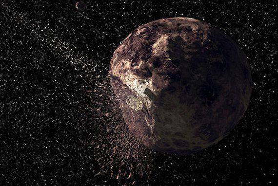 """几十年前发现的小行星突然出现类似彗星""""尾巴"""""""