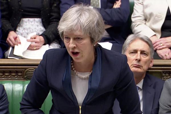 """特雷莎·梅的""""脱欧协议""""被英国议会下院投票否决"""