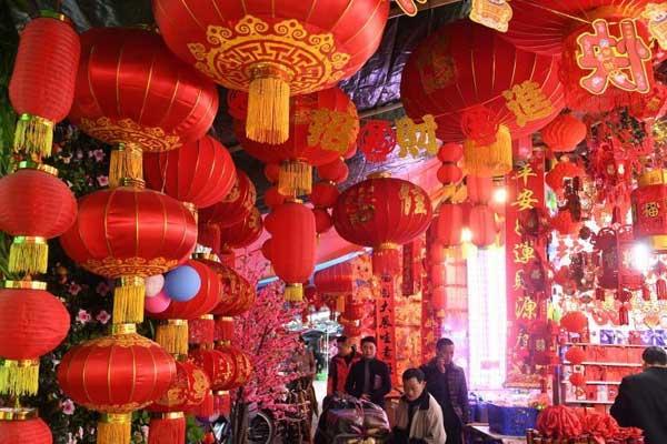 重庆街头年味浓