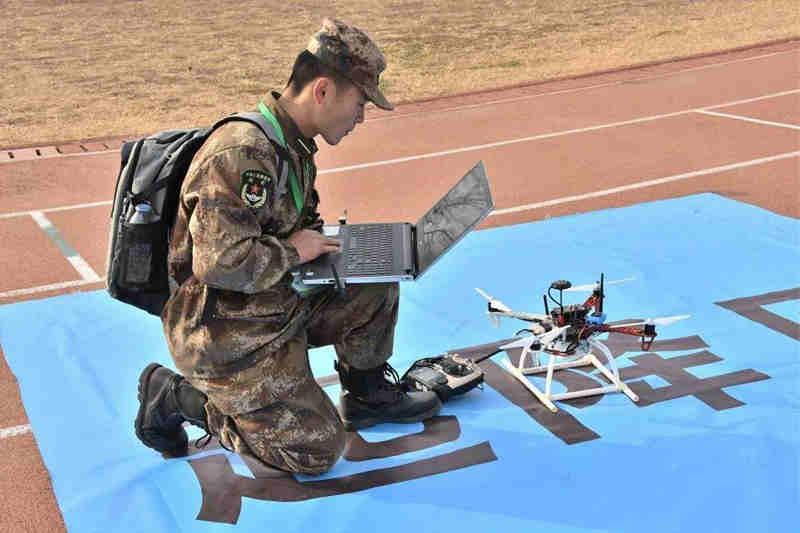 军地高校百支战队决战无人机挑战赛