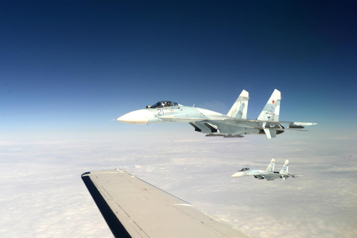 """美军女将称俄战机在与美军碰面时""""表现专业"""""""