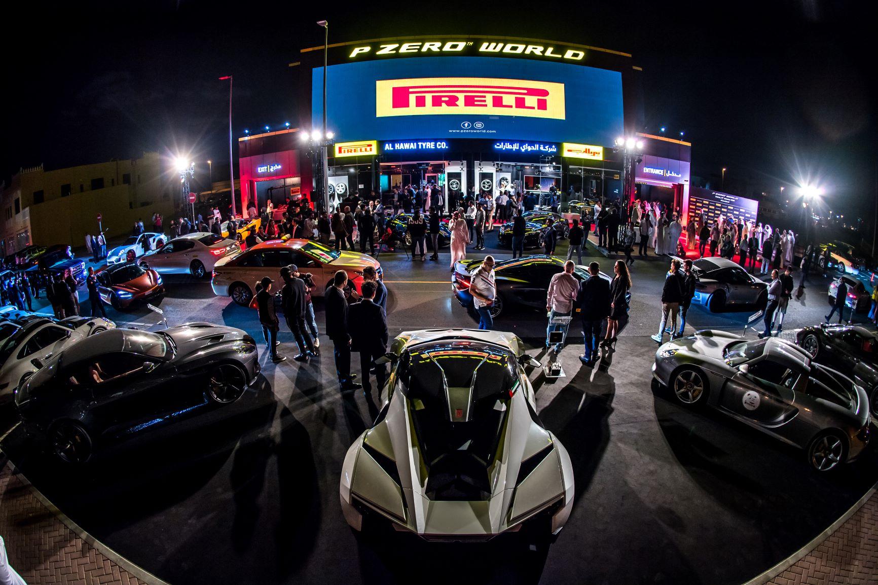 倍耐力P ZERO WORLD登陆迪拜 全球第四家品牌体验中心亮相第三个大陆