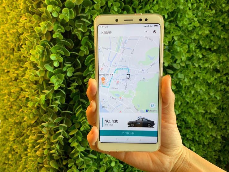 小马智行推出自动驾驶出租车打车app 广州试点