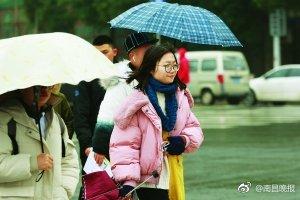 南昌今起降温 局部地区有雨夹雪