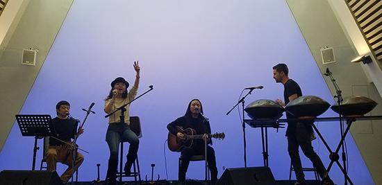 HAYA乐团携手色列手碟音乐家打造跨界音乐会