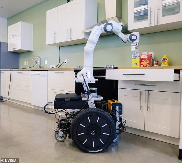 英伟达推厨房达人机器人  AI和深度学习助力自动化
