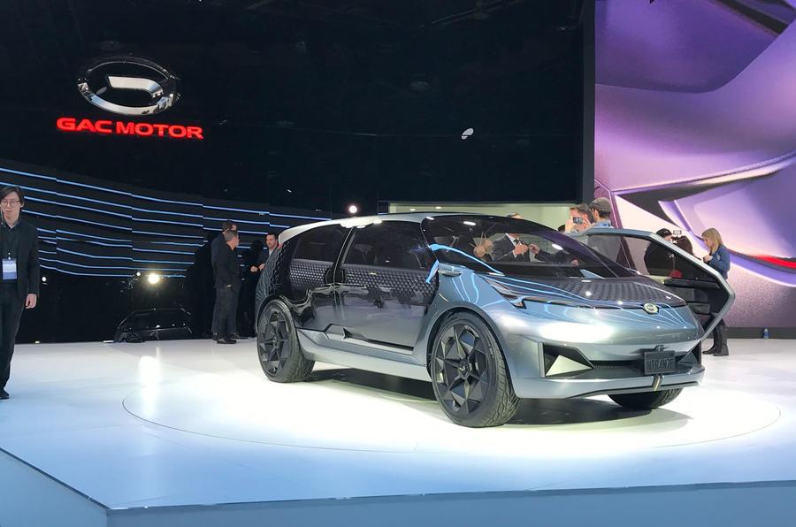 迎合北美市场 广汽Entranze概念车亮相底特律车展