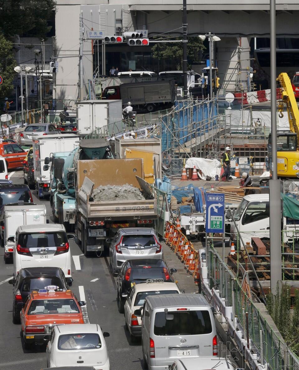 日本设法缓解东京奥运拥堵 探讨浮动通行费
