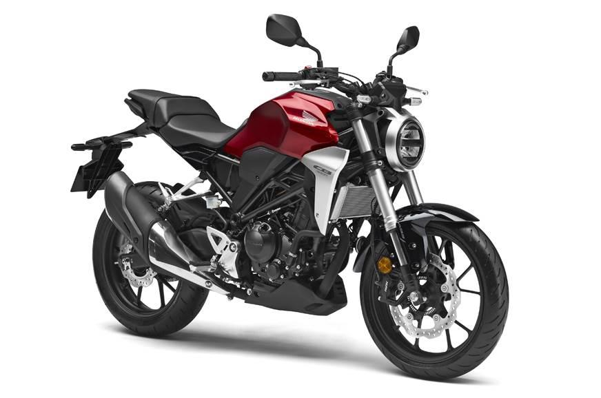 本田紧凑型入门级街车摩托CB300R登陆印度市场