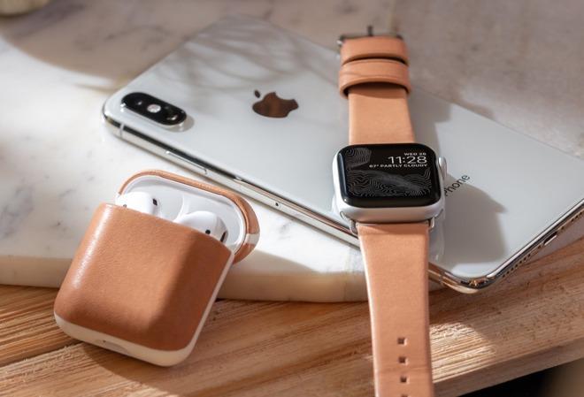 Nomad为苹果AirPods和Apple Watch推全新配件