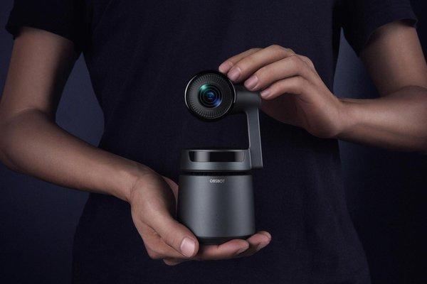世界首款AI自导演摄像机OBSBOT Tail