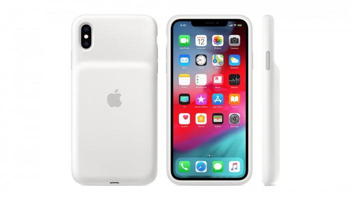 苹果发售三款全新iPhone智能电池保护壳