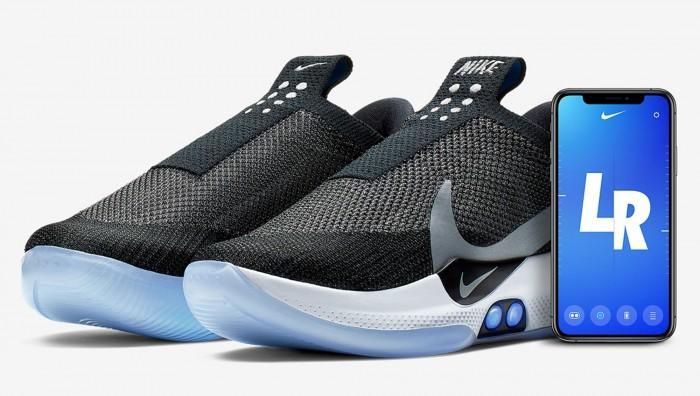Nike发布自系带篮球鞋:iPhone 控制+无线充电