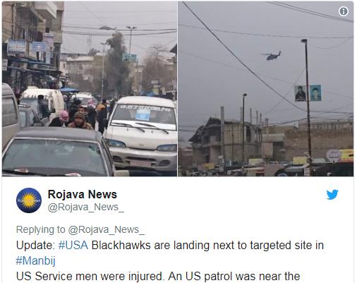 日付网赚联盟可靠吗:驻叙美军巡逻地遭恐袭致8死20伤 死者含1美军