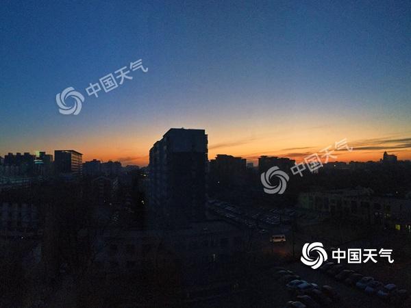 北京今晨仅为-10℃ 白天起气温缓慢回升降雪难