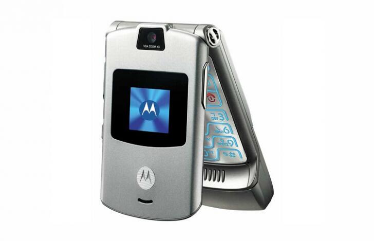 联想将发布摩托罗拉RAZR折叠手机 售价1500美元