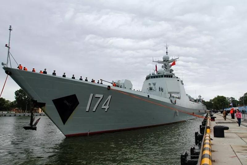 中国海军远训舰队启航 4艘主力舰总吨位超5万吨