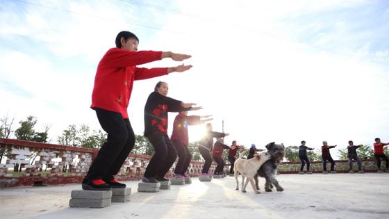 """加媒:点赞""""中国瑜伽第一村""""扶贫又扶心"""