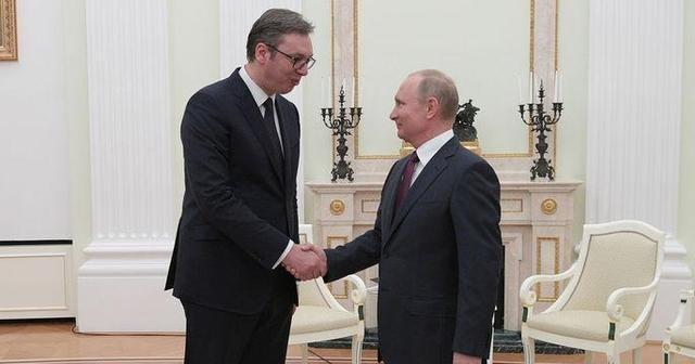 普京访问前,塞尔维亚总统谈普京:我总是向他寻求建议