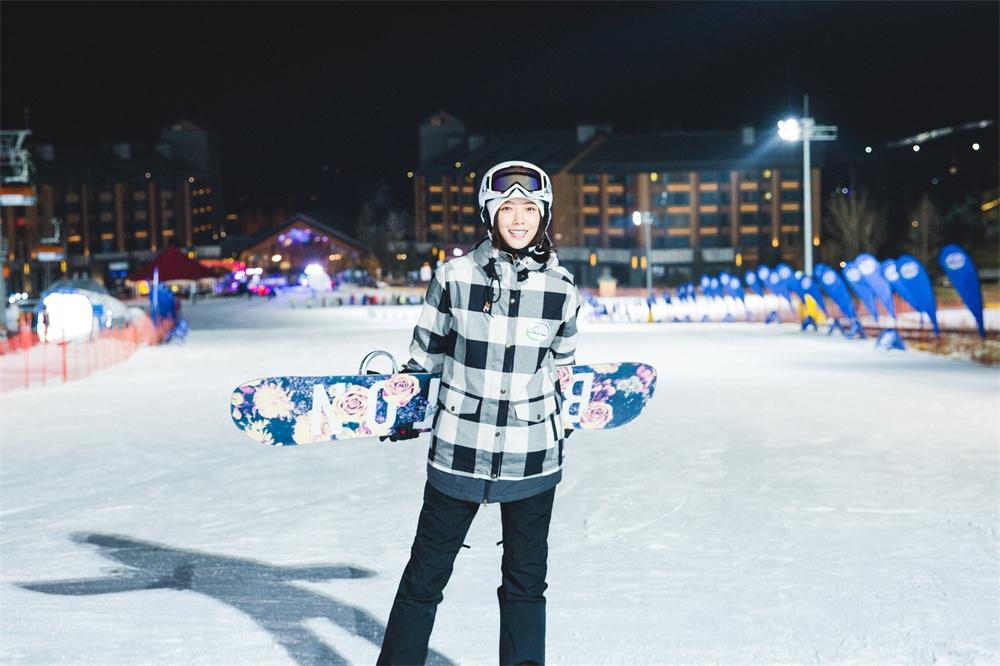 王珞丹:我不做单板滑雪女神!