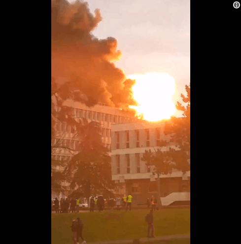 突发!法国里昂大学校园发生多起瓦斯爆炸 三人受轻伤