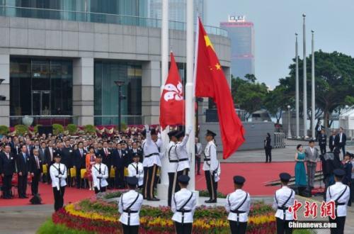 林郑月娥:订立国歌法理所当然 每个人都应尊重国家