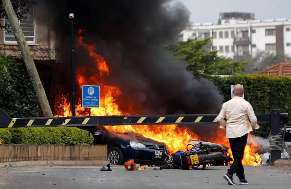 肯尼亚酒店遭袭 获救中国公民讲述惊险逃生经过