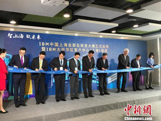 """上海张江人工智能岛""""开岛"""" IBM首家入驻"""