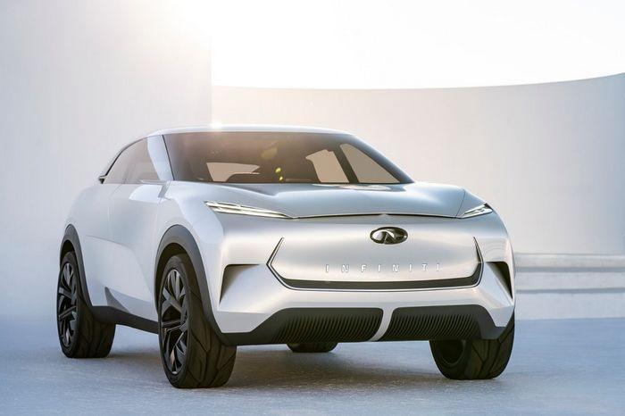 2019北美车展:英菲尼迪推出纯电概念SUV