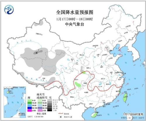 华北平原等地有轻至中度霾 18日起南方有降水过程