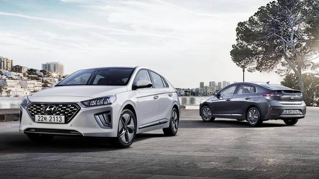 2020款现代Ioniq造型更新内饰升级 将在欧洲首发