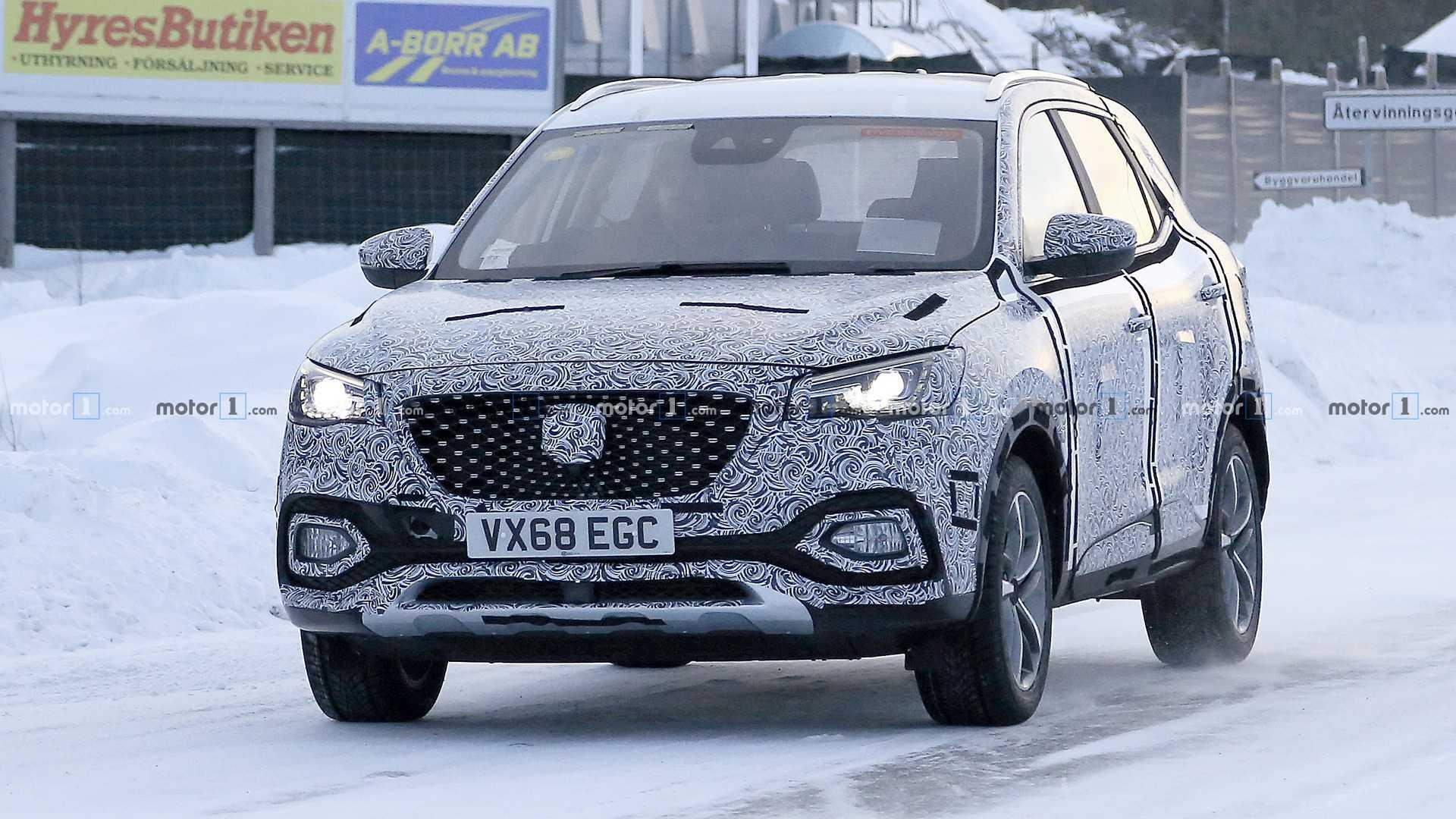MG X-Motion量产版北欧试车谍照曝光 年底上市