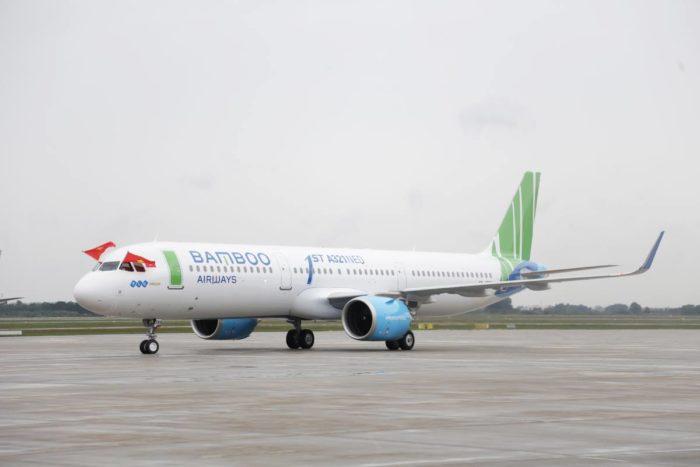 越南初创航空公司Bamboo Airways 16日成功首航