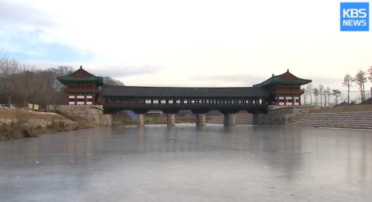 韩国千年古都花3亿复原古桥 被指照抄中国清朝桥梁结
