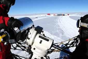 视宁度测量望远镜在南极昆仑站完成安装