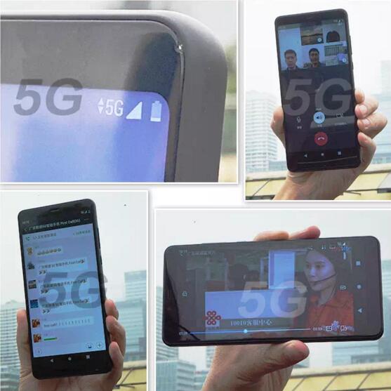 联通携手中兴通讯打通全球首个5G终端First call