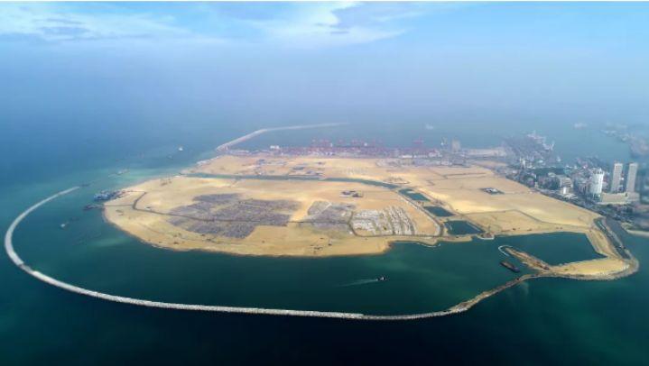 """48小时前,中国""""造岛神器""""在印度洋大项目上收工!"""