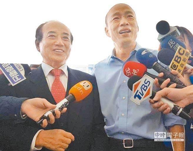 王金平首度表态将参选2020 韩国瑜4字回应引遐想