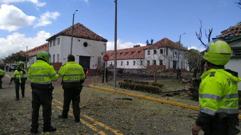 哥伦比亚首都一警校遭汽车炸弹袭击 致10死60伤