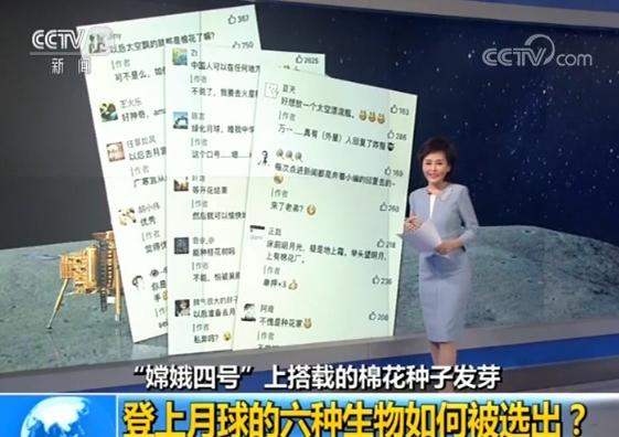 """""""嫦娥四号""""上搭载的六种生物如何被选出?"""