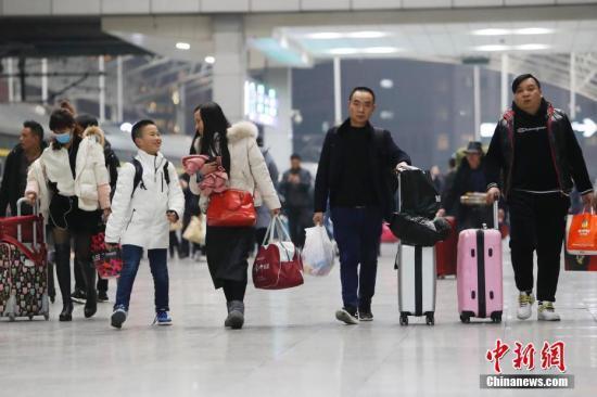 """今年春运旅客发送量近30亿人次 客流""""前紧后松"""""""